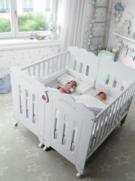 47 Best Ideas For Baby Cribs Ideas For Twins Baby Cribs Ideas Twins In 2020 Nursery Baby Room Twin Baby Rooms Twin Baby Beds