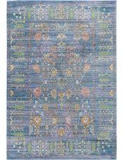 Vloerkleed Visconti Blauw Benuta Teppich