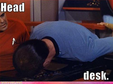 Headdesk Set Phasers To Lol Funny Celebrity Pics Star Trek Original Star Trek
