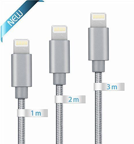 Cool Iphone Cable Iphone Charger Globalink Tm Lightning To Usb Cable 3pack 1 Retractable Phone Cord Ideas Iphone Charger Cord Iphone Charger Iphone Cable