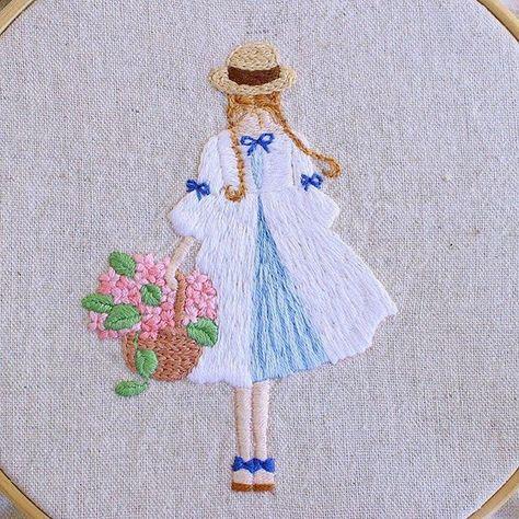 crossstitch #embroideryart #embroideryhoop...