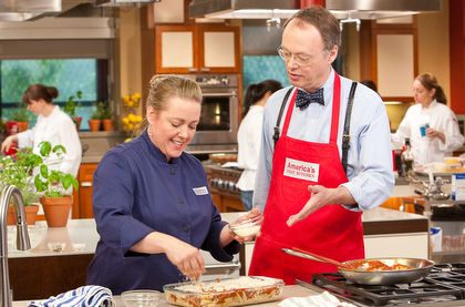 America's Test Kitchen....favorite cooking show