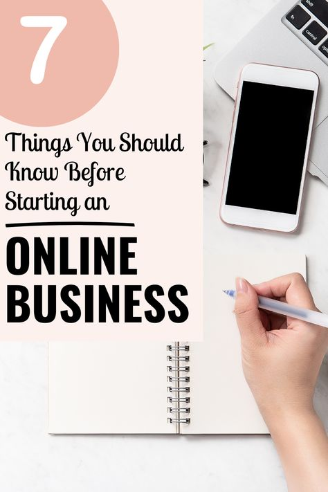 7 Things You Should Know Before Starting An Online Business + Free Printable Business Planner