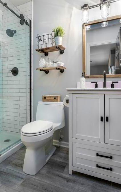 Bathroom Decor In 2020 Small Bathroom Decor Small Master Bathroom Small Bathroom