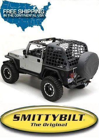 Smittybilt C Res System Cargo Net Blk Diamond For 92 95 Jeep Wrangler Yj 521035 Ebay Jeep Wrangler Yj Jeep Wrangler Jeep