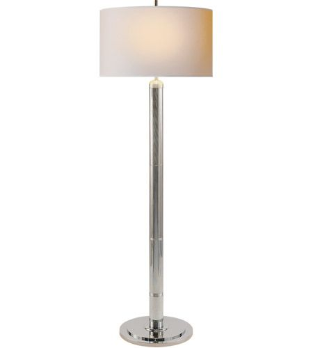 Thomas O Brien Longacre 65 Inch 75 Watt Polished Nickel Decorative Floor Lamp Portable Light Floor Lamp Decorative Floor Lamps Portable Light