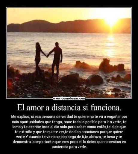 Frases De Amor A Distancia With Images Amor Quotes Christian
