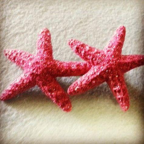 Pink Glitter StarfishMermaid Mermaid bracelet by msformaldehyde, $10.00