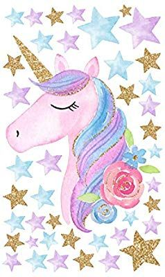 Amazon Com Amaonm Creative Cartoon Rainbow Unicorn With Colorful