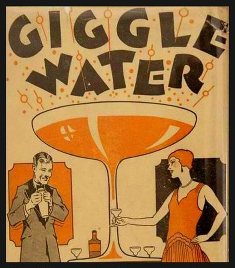Earlier this month, AbeBooks sold a remarkable cocktail book – Giggle Water Including Eleven Famous Cocktails of The Most Exclusive Club in New York by Charles D Warnock for It's an ultra-rare self-published cocktail recipe book from Vintage Advertisements, Vintage Ads, Vintage Posters, 80s Posters, Theatre Posters, Weird Vintage, Vintage Branding, Vintage Ephemera, Vintage Stuff