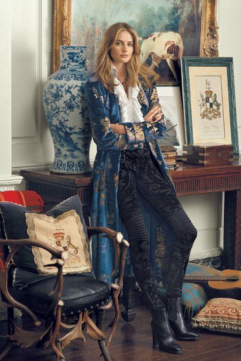 Ralph Lauren Fall Winter 2016 Ad Campaign - Sanne Vloet and Cindy Bruna