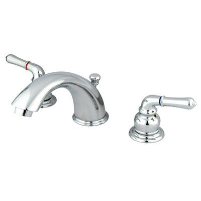 Elements Of Design Widespread Bathroom Faucet With Drain Assembly