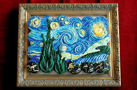 Van Gogh Cupcakes by Hello, Cupcake! by Karen Tack and Alan Richardson.