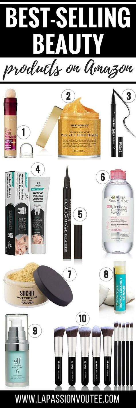 I've always been an Amazon enthusiast. While searching for the best things to buy on Amazon, I came across this post. It is an epic list of the best-selling beauty products on Amazon you need in your life. You won't be disappointed! #amazon #beautytips #giftidea #giftsforher