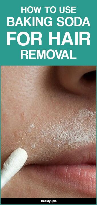 How to Use Baking Soda for Hair Removal?