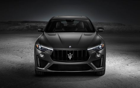 Download Wallpapers Maserati Levante Trofeo 2019 4k Front View