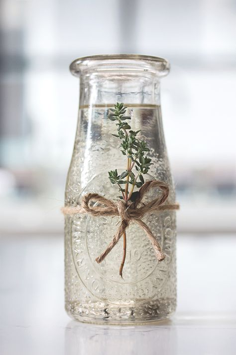 this is amazing! Thyme Syrup | HonestlyYUM