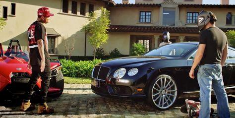 Bentley Continental GT (2012) car in AYO by Chris Brown (2015) @bentleymotors