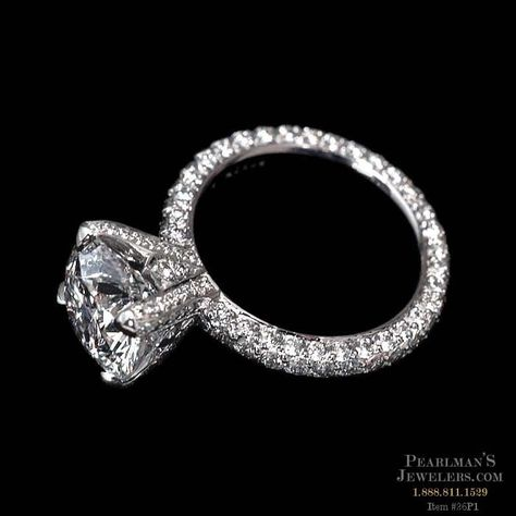 pave eternity band. YUM. Michael B.  from Pearlmans Jewelers
