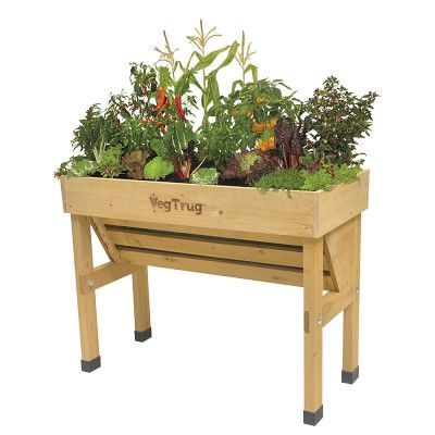 Vegtrug Wallhugger Small Raised Garden Planters Raised Garden Beds Raised Planter Beds