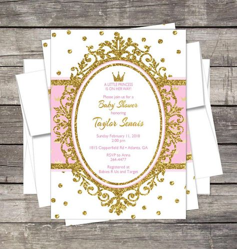 **FREE SHIPPING** >>>> **Glitter image effect is printed, not actual glitter* **There is NO BLEED on this invitation. If you need an invitation with a bleed, please note with your order. **The DIY option IS NOT an editable file. You will not be able