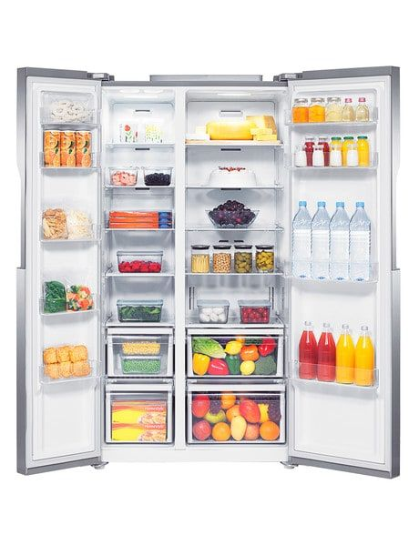 Samsung 583l Side By Side Fridge Freezer Srs583nls Product Photo