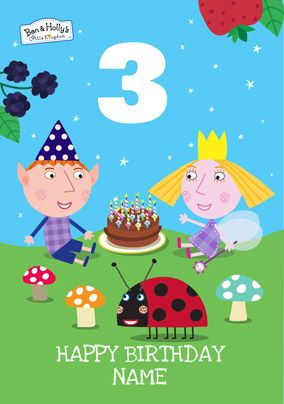 Ben Holly Birthday Card 2 Today Funky Pigeon Ben And Holly Birthday Cards Birthday