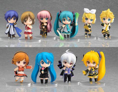 12x  Anime Vocaloid Hatsune Miku Cute PVC Figure Model Toy Xmas Gift New NO Box