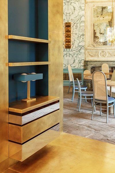 Toro Liautard Interior Design Studio Based In Paris Project Restaurant Bb Paris In The Private Club Interior Design Studio Restaurant Design Interior