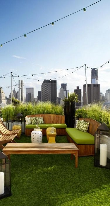Top 15 Contemporary Rooftop Garden Design Ideas Rooftop Bars Nyc