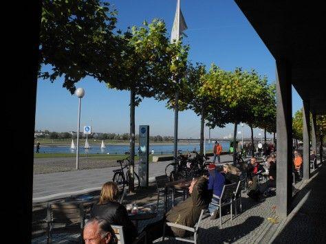 Fancy KunstImTunnel KIT Caf in D sseldorf Direkt am Rhein Cologne Dusseldorf Beyond Pinterest K ln
