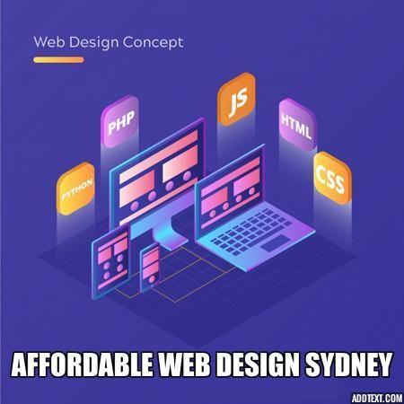 Affordable Web Design Sydney Web Design Affordable Web Design Web Design Agency