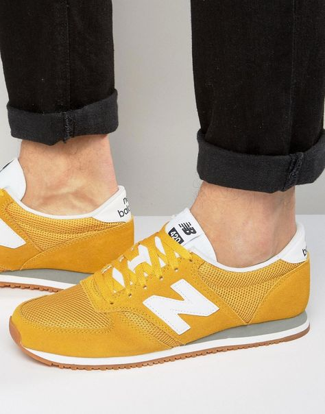new balance 70s running 420 trainers in brown u420ptb