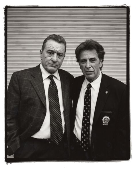 De Niro and Pacino