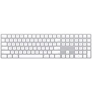 Apple Magic Keyboard With Numeric Keypad Wireless Rechargable Us English Silver Usa Laptoplo Com Keyboard Numeric Keypad Wireless