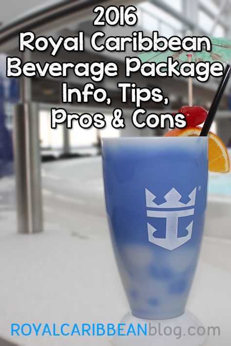 Do you recommend a Royal Caribbean drink package?