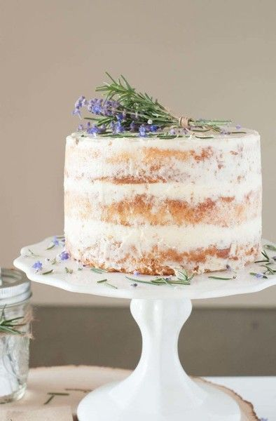 Rosemary Lavendar Cake - Instagram-Worthy Desserts That Are Easier To Make Than They Look - Photos