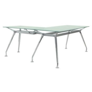 8826778 Glass Desk Furniture Glass Top Desk