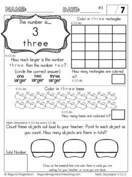 Kindergarten Math Worksheets Count To Tell The Number Of Objec Kindergarten Math Worksheets Counting Kindergarten Math Worksheets Common Core Math Kindergarten