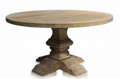 table ronde en bois table en bois
