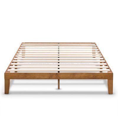Red Barrel Studio Harlow Solid Wood Platform Bed Wood Platform Bed Solid Wood Platform Bed Wood Platform Bed Frame