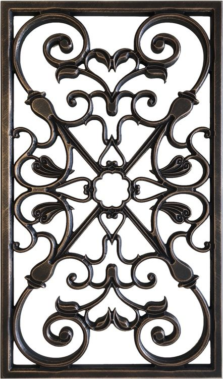 Verena With Frame Iron Wall Decor Ceiling Decor Home Interior Design