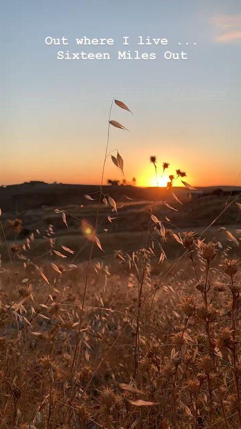 #sixteenmilesout #peaceful #countryliving #sunset #lightbreeze #breeze