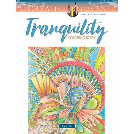 Creative Haven Tranquility Coloring Book Paperback Walmart Com Coloring Books Creative Haven Coloring Books Forest Coloring Book