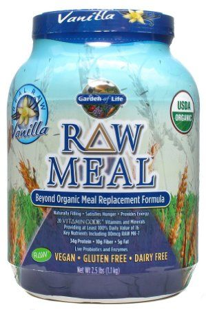 Amazon Com Garden Of Life Raw Organic Meal Vanilla 2 5 Lbs