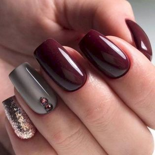Glamorous Gel Nails Designs 2018 With Images Neutral Nail Art