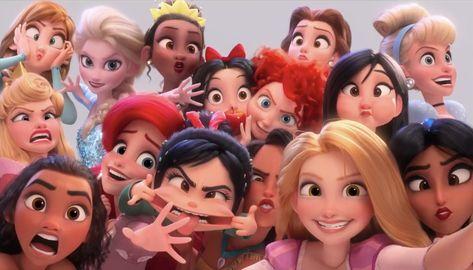 Nouvelle bande-annonce du film d'animation Ralph 2.0. (Disney)