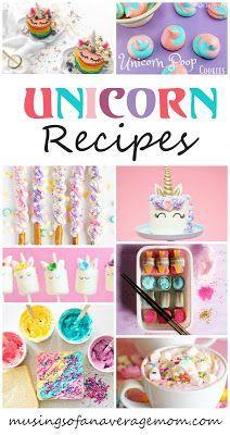 Unicorn recipes | Party Planning | Unicorn party, Unicorn themed