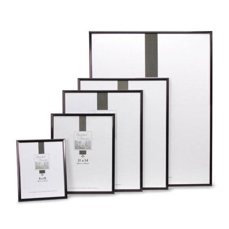 Darice Aluminum Picture Frame Black 9 X 12 Inches Walmart Com Picture Frame Designs Picture Frame Colors Picture Frames