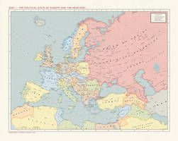 Alternate Cold War 1960 Europe Political By Kuusinen